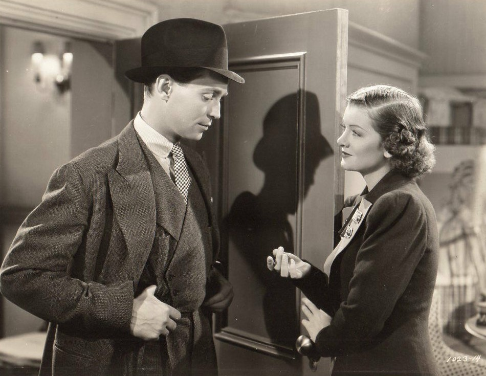 Myrna Loy and Franchot Tone in Man-Proof (1938)