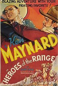 Ken Maynard in Heroes of the Range (1936)