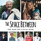 Michael Ironside, Amy Jo Johnson, Michael Cram, David Paetkau, Maria Ricossa, Sonya Salomaa, and Julia Sarah Stone in The Space Between (2017)