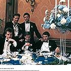 Kevin Bacon, Steve Guttenberg, Mickey Rourke, Tim Daly, and Daniel Stern in Diner (1982)