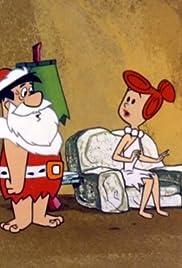 Christmas Flintstone Poster