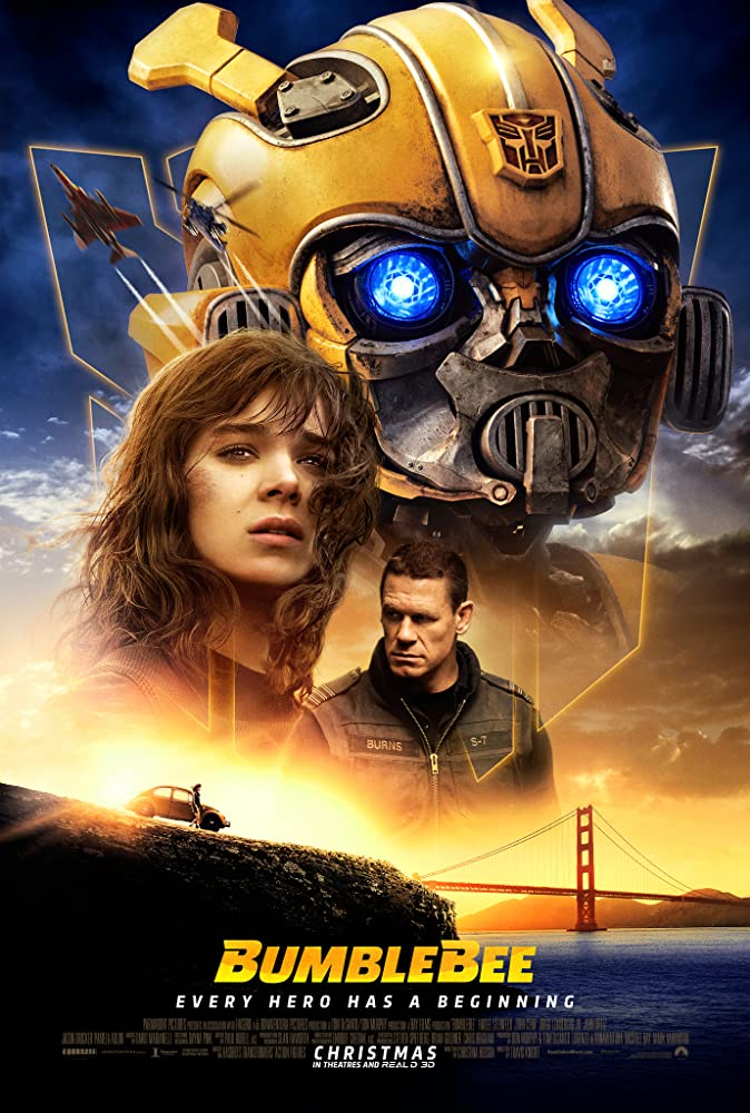 John Cena and Hailee Steinfeld in Bumblebee (2018)