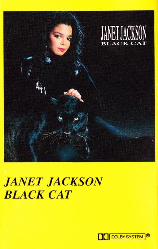 Janet Jackson Black Cat 1990