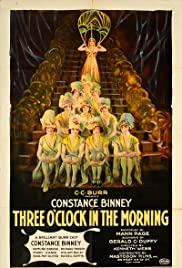 Three O'Clock in the Morning Poster
