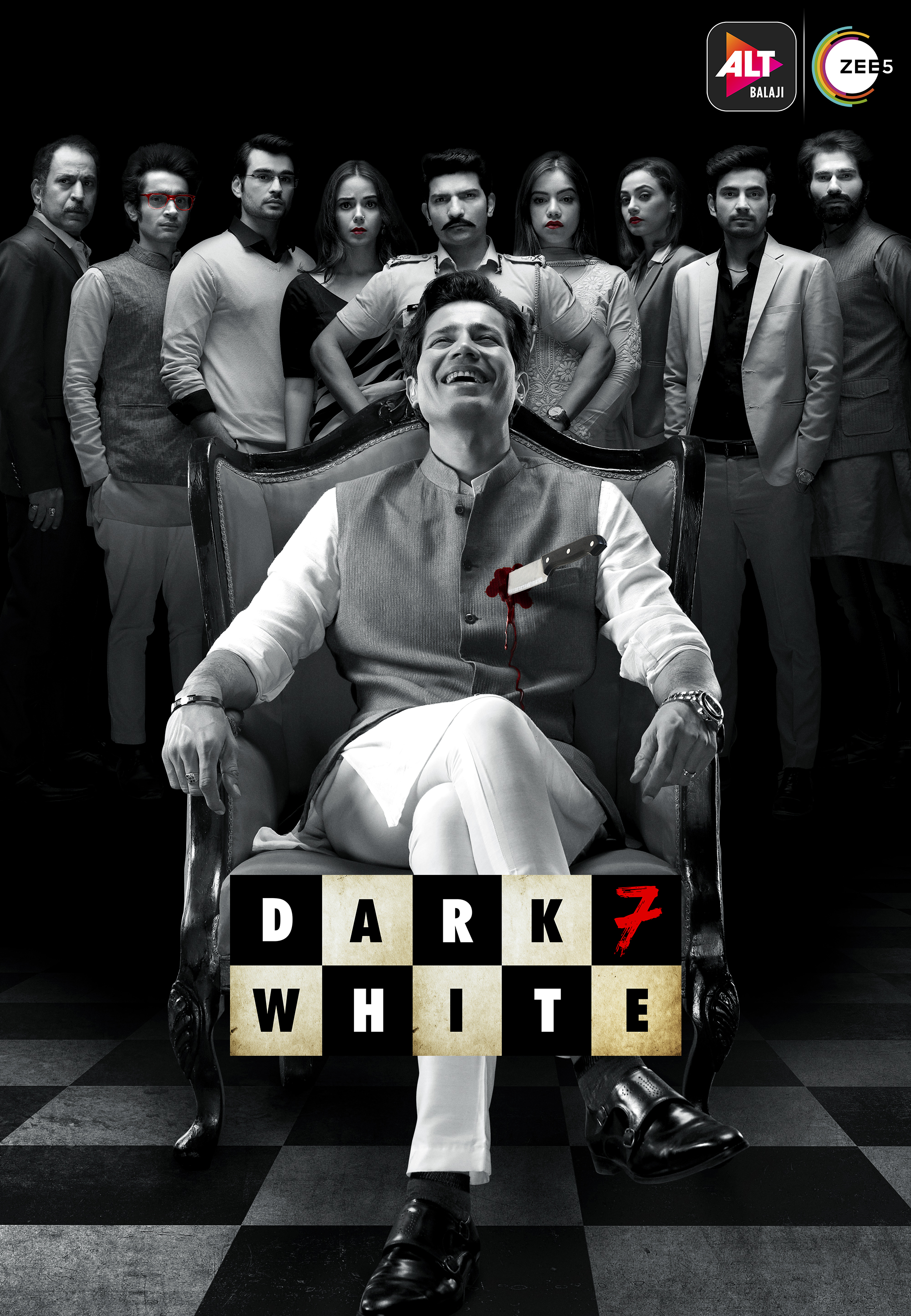 Dark 7 White 2020 S01 Hindi Complete ALTBalaji Original Web Series 720p HDRip 1.4GB x264 AAC