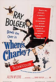 Where's Charley? (1952) Poster - Movie Forum, Cast, Reviews