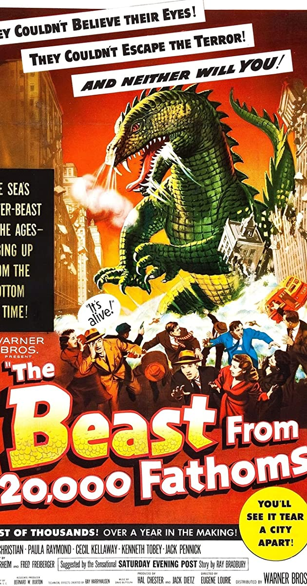Subtitle of The Beast from 20,000 Fathoms
