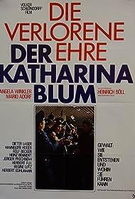 Die verlorene Ehre der Katharina Blum (1975) Poster - Movie Forum, Cast, Reviews