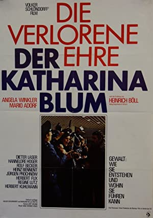 مشاهدة فيلم The Lost Honor Of Katharina Blum 1975 مترجم أونلاين مترجم