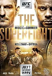UFC 226: Miocic vs. Cormier Poster