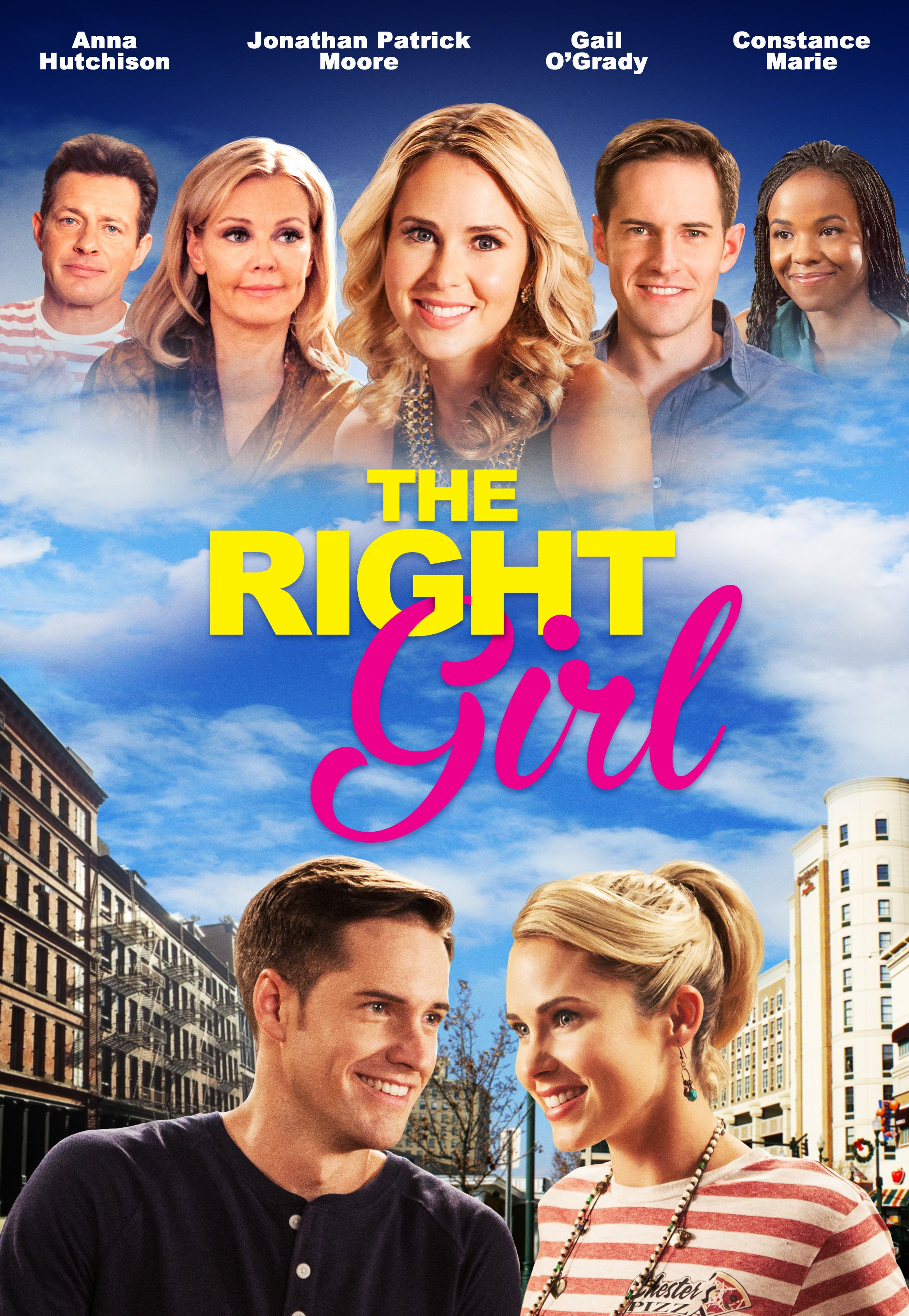 Anna Hutchison, Costas Mandylor, Gail O'Grady, and Jonathan Patrick Moore in The Right Girl (2015)