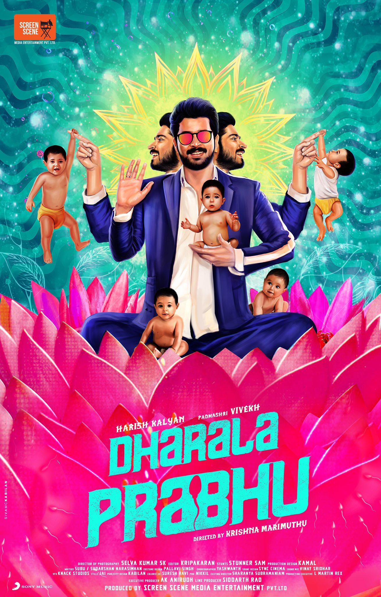 Dharala Prabhu 2020 Tamil 480p HQ WEB-DL 400MB