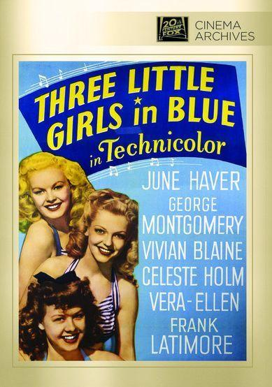 June Haver, George Montgomery, and Vera-Ellen in Three Little Girls in Blue (1946)