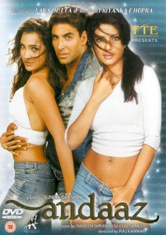 View Andaaz (2003) Movie poster on SoapGate