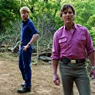 Tom Cruise and Domhnall Gleeson in American Made (2017)