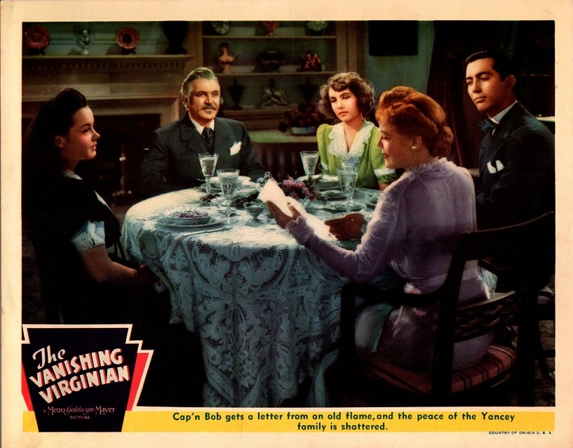 Spring Byington, Kathryn Grayson, Johnny Mitchell, and Frank Morgan in The Vanishing Virginian (1942)