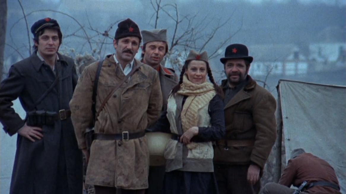 Jovan Janicijevic-Burdus, Marinko Sebez, Olivera Katarina, and Velimir 'Bata' Zivojinovic in Partizani (1974)