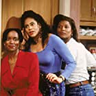 Queen Latifah, Erika Alexander, and Kim Coles in Living Single (1993)