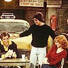 Danny DeVito, Marilu Henner, Tony Danza, and Judd Hirsch in Taxi (1978)