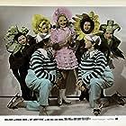 Barbara Brewster, Gloria Brewster, Jack Heasley, Robert Heasley, and Sonja Henie in My Lucky Star (1938)