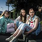 Molly Windsor, Ria Zmitrowicz, and Liv Hill in Three Girls (2017)