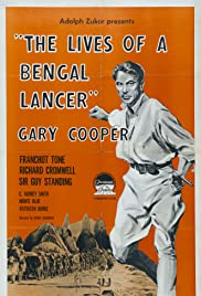 The Lives of a Bengal Lancer Poster