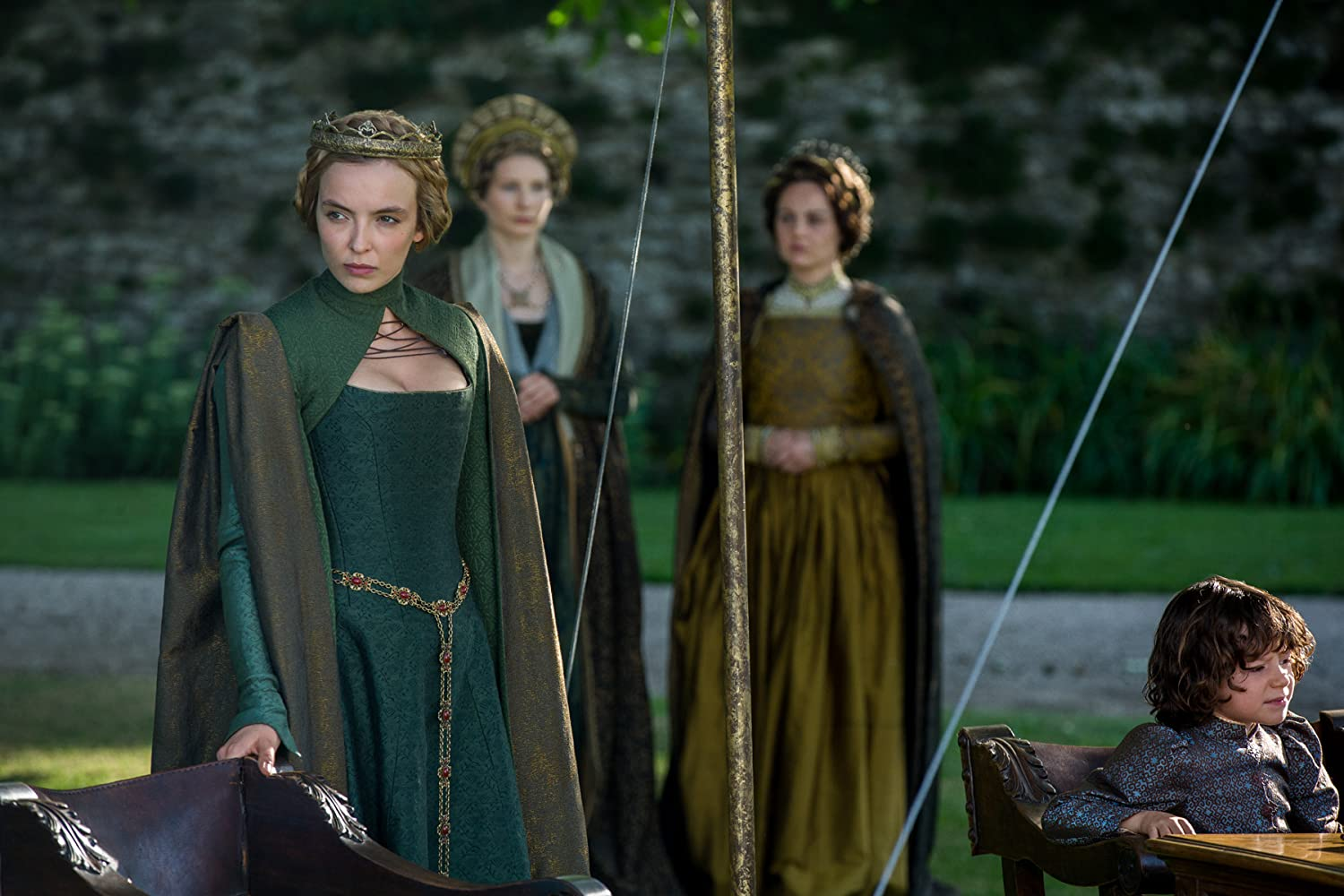 Jodie Comer and Woody Norman in The White Princess (2017)