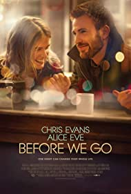 Chris Evans and Alice Eve in Before We Go (2014)