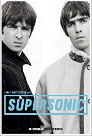 Liam Gallagher and Noel Gallagher in Supersonic (2016)