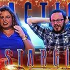 Melanie Elliott and Aaron Elliott in Blind Wave: Stargirl Reaction (2020)