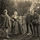 Wilfred Lucas, Marc McDermott, Mary Pickford, and Anders Randolf in Dorothy Vernon of Haddon Hall (1924)