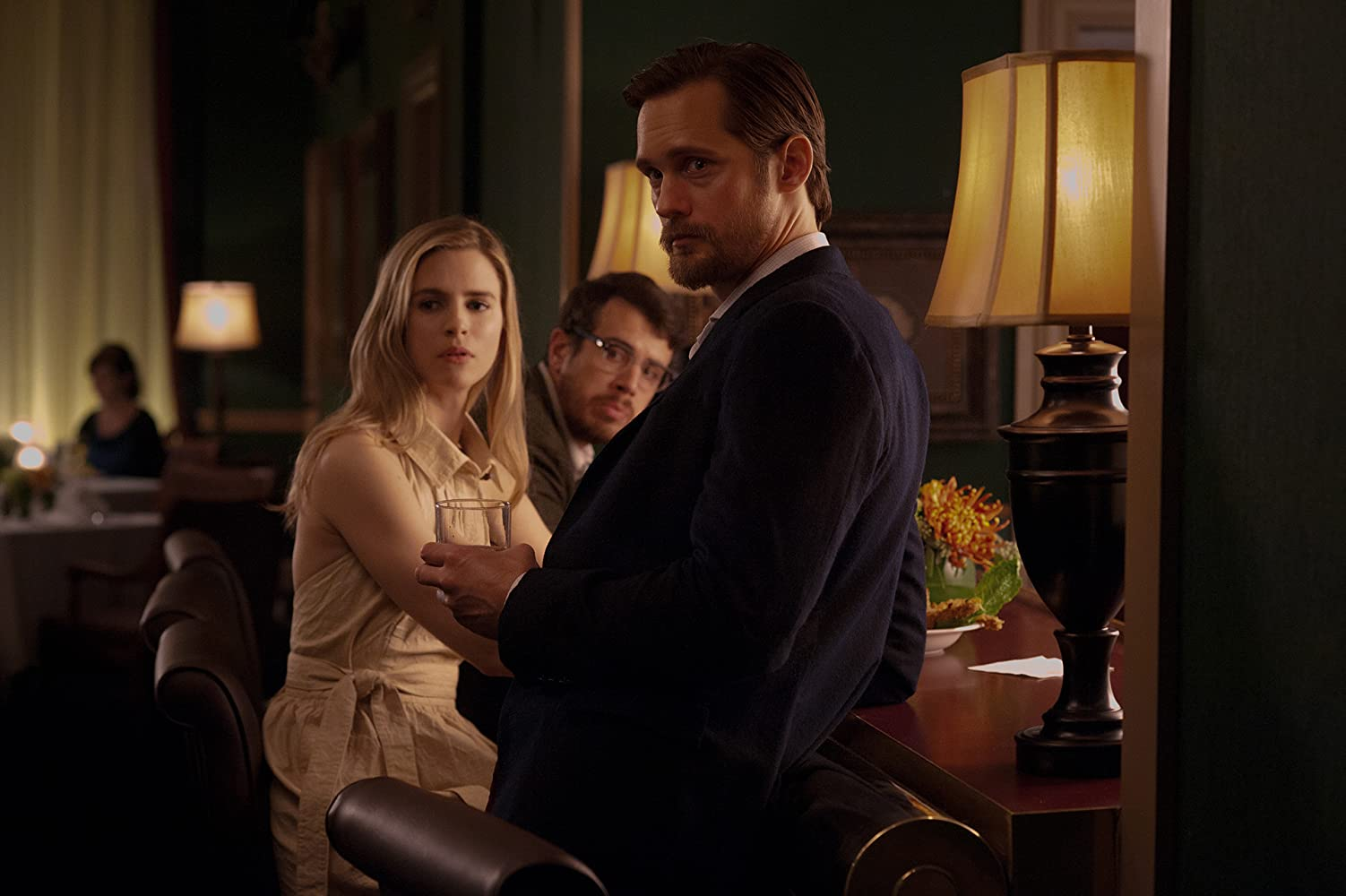 Alexander Skarsgård and Brit Marling in The East (2013)