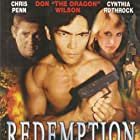 Chris Penn, Cynthia Rothrock, and Don Wilson in Redemption (2002)