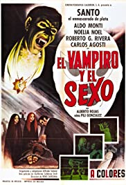 Santo in the Treasure of Dracula Poster