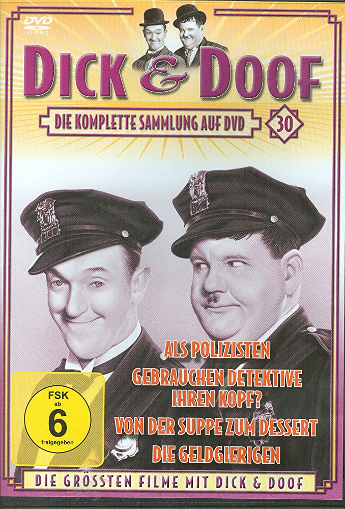 From soup to nuts Laurel /& Hardy Vintage movie poster