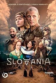Dusan Cinkota, Zuzana Fialová, Andrej Hryc, Polina Nosykhina, Tomas Mastalir, Juraj Loj, and Jana Kvantiková in Slovania (2021)