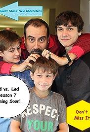 Dad vs. Lad Poster
