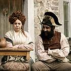 Olivia Colman and Adeel Akhtar in Les Misérables (2018)