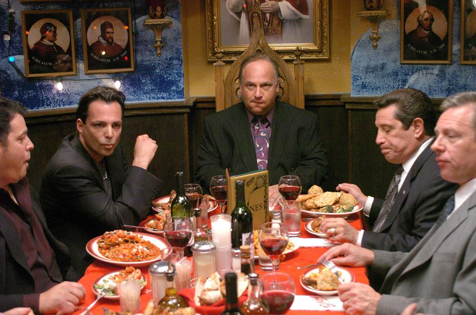 Richard Grieco, Michael Saquella, and Phil Amato in Forget About It (2006)
