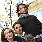 Özlem Yilmaz, Volkan Keskin, and Müge Boz in Karaoglan (2013)