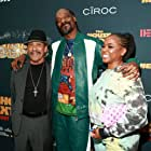 Danny Trejo, Snoop Dogg, and Shante Broadus at an event for The House Next Door (2021)