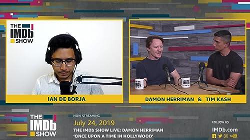 Damon Herriman Chats about Walking onto a Tarantino Film Set