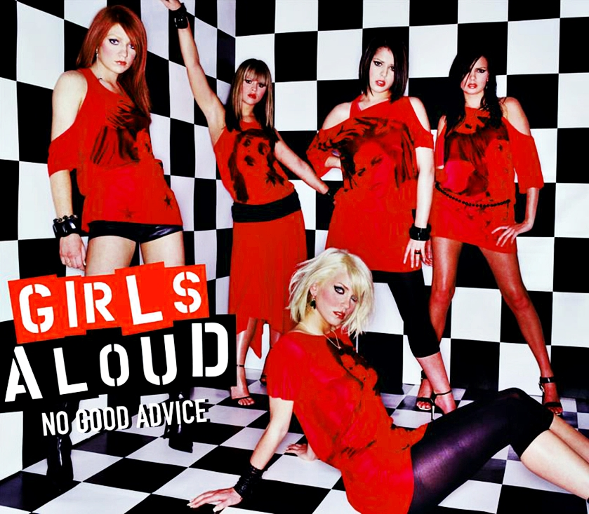 Cheryl, Kimberley Walsh, Nadine Coyle, Sarah Harding, Nicola Roberts, and Girls Aloud in Girls Aloud: No Good Advice (2003)