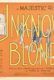 Unknown Blonde Poster