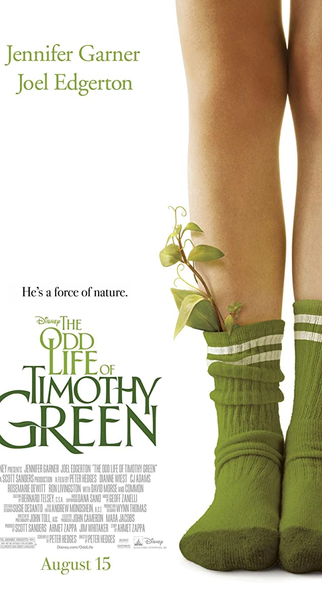 Subtitle of The Odd Life of Timothy Green