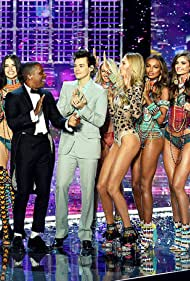 Adriana Lima, Leslie Odom Jr., Candice Swanepoel, Harry Styles, Taylor Hill, Jasmine Tookes, and Romee Strijd in The Victoria's Secret Fashion Show (2017)