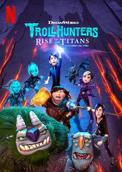 Trollhunters: Rise of the Titans (2021) Hindi Dubbed
