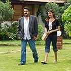 Mohanlal and Bhavana in Twenty:20 (2008)