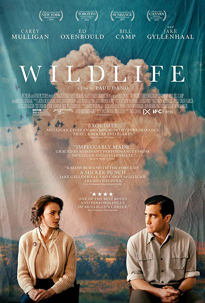 Jake Gyllenhaal and Carey Mulligan in Wildlife (2018)