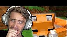 Domé un zorro en Minecraft (muy lindo)